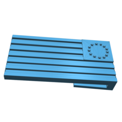 Download 3D printer files fine new flag, tabbycat123