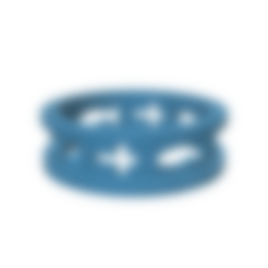 Download 3D printing files solo christ ring, tabbycat123