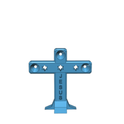 Download 3D printing models cross, tabbycat123
