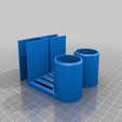Download free 3D printer model Paper Towel Holder (for 18mm shelf), stibo