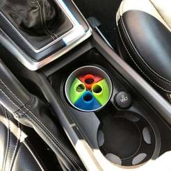 Download free 3D printing files Chewing Gum Boxes for Car Cupholder, stibo