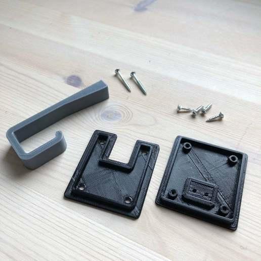 68e40286d33557e1567e7aa445ab33be_display_large.JPG Download free STL file Volvo V40 Trunk Hook • Design to 3D print, stibo