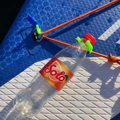 Download free 3D print files SUP Bottle Clip, stibo