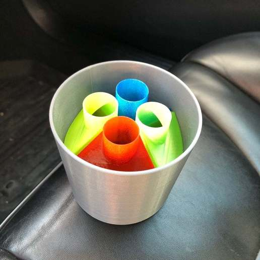 6bade8110601de30c47dd51084ffc663_display_large.JPG Télécharger fichier STL gratuit Boîtes de chewing-gum pour porte-gobelet de voiture • Plan pour impression 3D, stibo