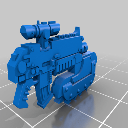 chainbajonet_v1.png Download free STL file Chainbayonet for melee support • 3D printing object, andreasfisch94