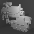 chainbayonet_thingi.png Download free STL file Chainbayonet for melee support • 3D printing object, andreasfisch94