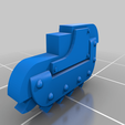 chainbajonet_part_v1.png Download free STL file Chainbayonet for melee support • 3D printing object, andreasfisch94