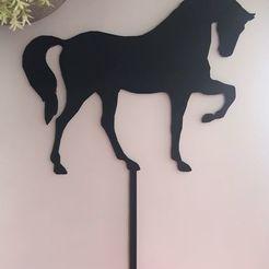 Download free STL file Cake topper horse - horse • 3D printer model, Jordan1899