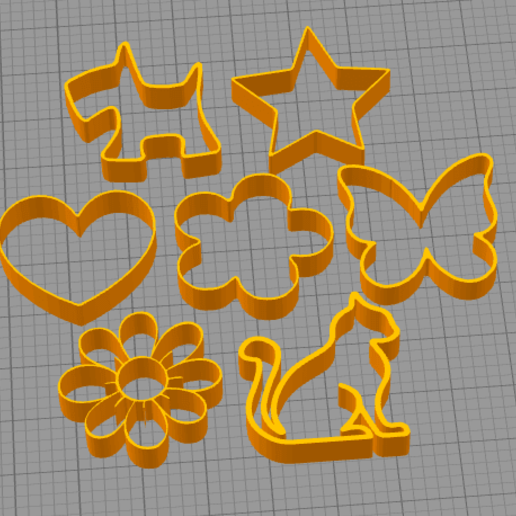 Imagen2.png Download free STL file Cake and Biscuit Moulds • 3D printer design, Zero13