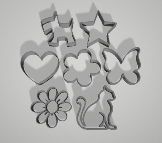 Imagen1.png Download free STL file Cake and Biscuit Moulds • 3D printer design, Zero13