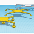 Download free 3D printing models Drone - TPU Landing Gear, Zero13