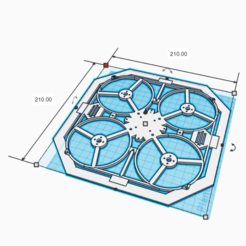 Download free 3D printer templates Drone Chassis 3 Inches, Zero13