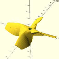 Helice_3_Pulgadas_4_Palas_Imagen1.png Download free STL file Propeller 3 inches (4 blades) • Template to 3D print, Zero13