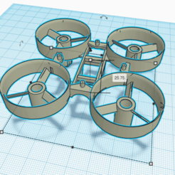 Download free STL file TinyWhoop Inductrix • 3D printer template, Zero13