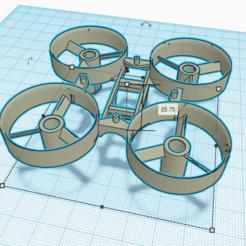 Descargar diseños 3D gratis TinyWhoop Inductrix, Zero13