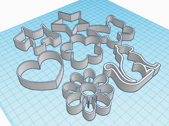 Imagen3.png Download free STL file Cake and Biscuit Moulds • 3D printer design, Zero13