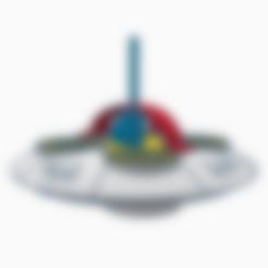 Download free STL files Dron Ovni Varinia (eachine E016H), Zero13