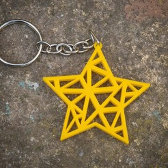 IMG_4359.jpg Download free STL file keychain star • 3D printable object, EN3D