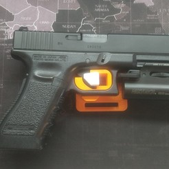 Download 3D printer designs Glock Holster Quick Release, LionTactics