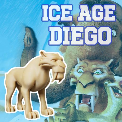 Télécharger fichier impression 3D gratuit L'ère glaciaire de DIEGO, 3D_World
