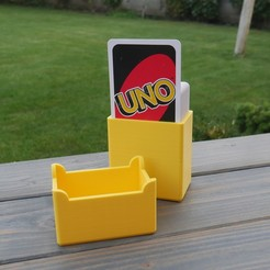 Download free 3D printing files Card box - UNO, 3D_World
