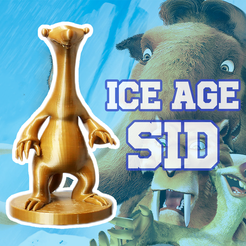 SID 1.1.png Download free STL file SID Ice Age • 3D print template, 3D_World