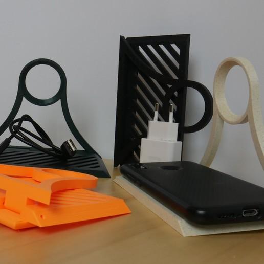 2.jpg Download free STL file Charging shelf • 3D print design, 3D_World