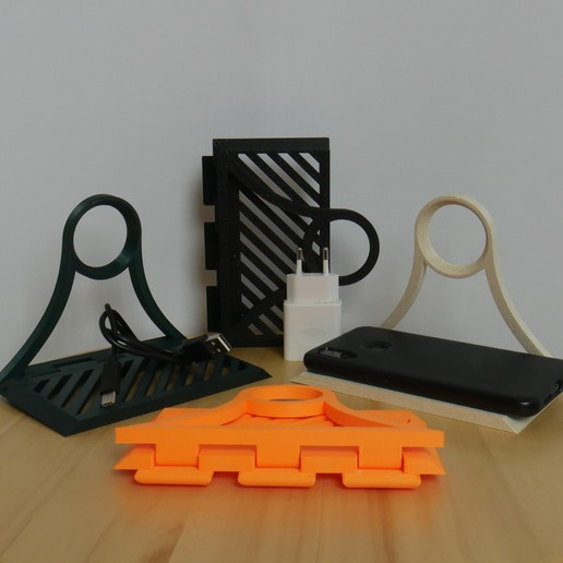 Download free 3D printer designs Charging shelf, 3D_World