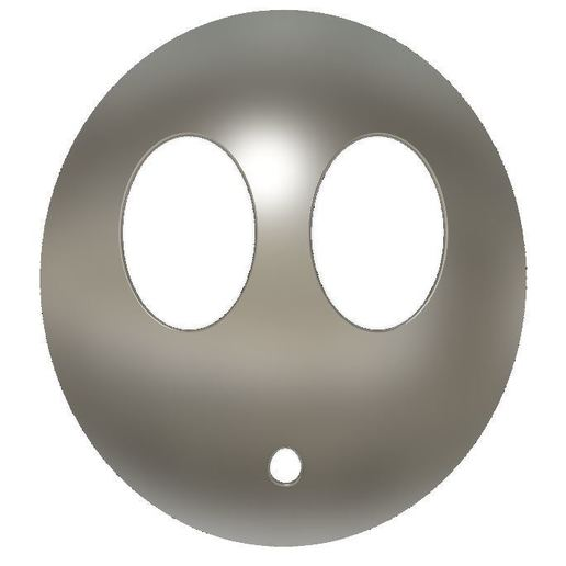 Download free STL files Shyguy mask (from super mario), cmoore1