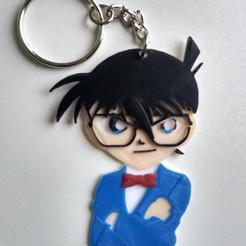 Descargar modelos 3D para imprimir Detective Conan Keychain, rgutierrezg