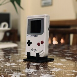 IMG_4855.jpg Download free STL file Game Boy Classic DMG Stand • 3D printing template, gionnio