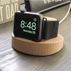 Télécharger fichier 3D gratuit Apple Watch Dock, ronchonchon