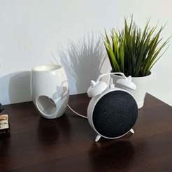 Télécharger fichier impression 3D gratuit Google Home Dock, ronchonchon