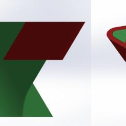 Sin título.png Download STL file Triangular pot • 3D print model, jaulalrom