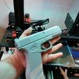 Download 3D printing templates G17R Rubber Band Gun, glyd