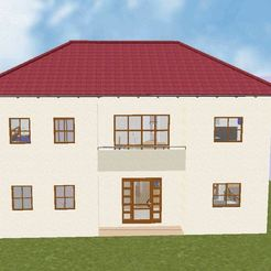 House 13 a.JPG Download STL file House 13 • 3D printable design, soniahidalgoz