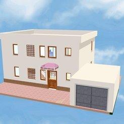 Casa 12A.jpg Download STL file House 12 • 3D printing design, soniahidalgoz