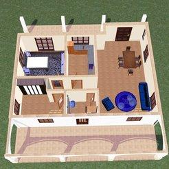 Download 3D printing designs House 5, soniahidalgoz