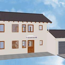 00.JPG Download 3MF file House 11 • 3D printer design, soniahidalgoz