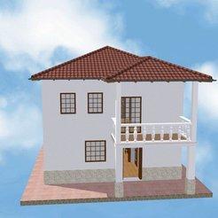 Download 3D model House 6, soniahidalgoz