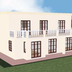 Download 3D printing templates House 2, soniahidalgoz