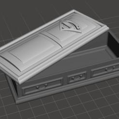 Descargar archivos STL Superman coffin, pablo_s