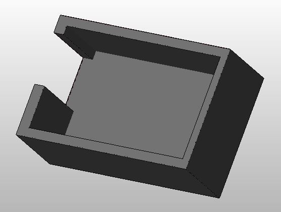 Tapa_Follow_Tally.JPG Download free STL file JVC GY-HC900 Follow Tally • 3D print design, CMH