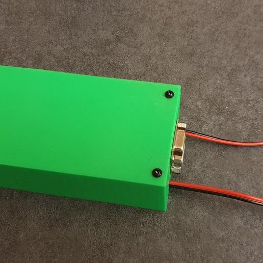20200127_000427.jpg Download free STL file JVC RM-LP100 Tally Box (arduino optocoupler circuit box) • 3D printing model, CMH