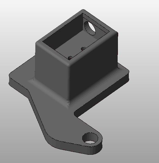Cuerpo_Follow_Tally.JPG Download free STL file JVC GY-HC900 Follow Tally • 3D print design, CMH