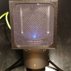 Télécharger modèle 3D gratuit Anti pop filter audiotechnica AT2020, Mad_Cha