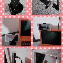 Imprimir en 3D soporte telefono, chp18
