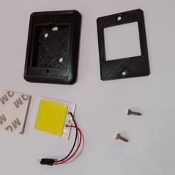 Download 3D printing templates V2 led socket, chp18