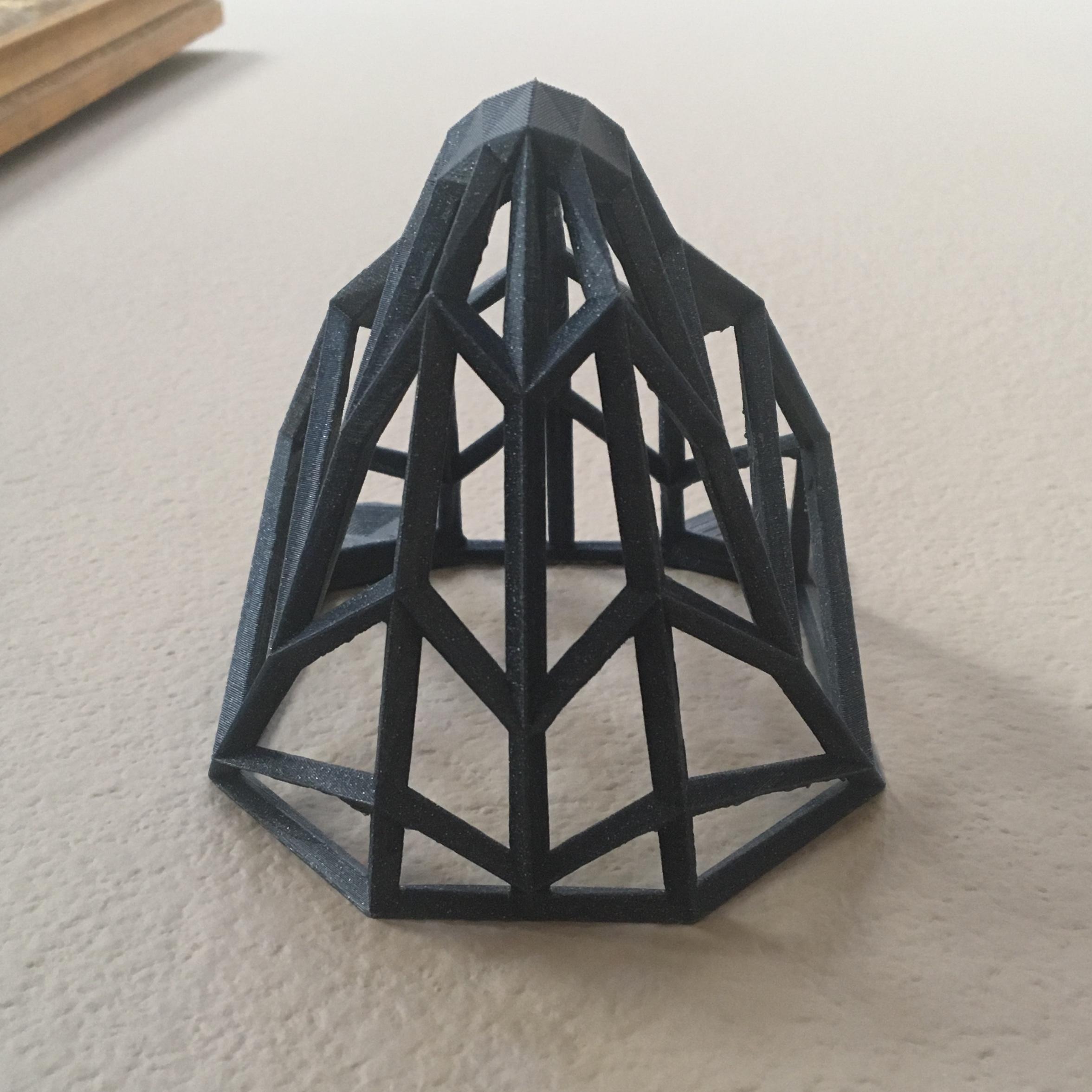IMG_8975.JPG Download free STL file Wire Frame Panda Head • 3D printable design, caitlin_le