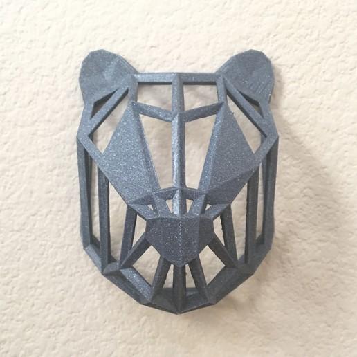 IMG_8968.JPG Download free STL file Wire Frame Panda Head • 3D printable design, caitlin_le